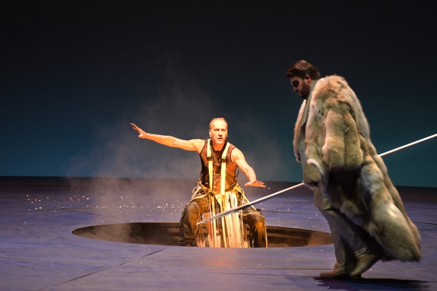 Kurt Streit (Loge), James Rutherford (Wotan)