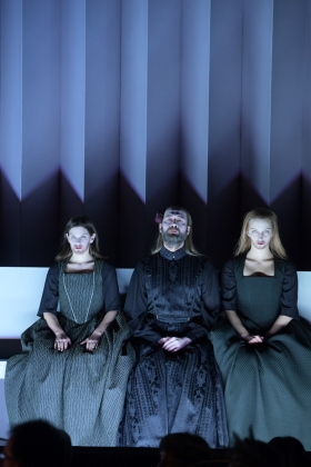 Elizabeth Reiter (First Witch), Dmitry Egorov (Sorceress), Julia Dawson (Second Witch)