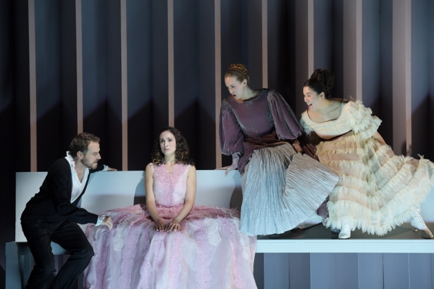 Sebastian Geyer (Aeneas), Cecelia Hall (Dido), Angela Vallone (Belinda), Karen Vuong (Second Woman),