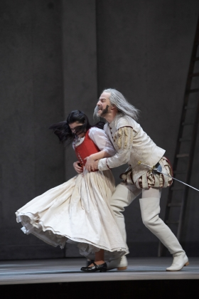 Nina Tarandek (Zerlina), Sebastian Geyer (Don Giovanni)