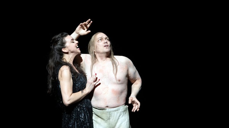 Ambur Braid (Salome), Christopher Maltman (Jochanaan)