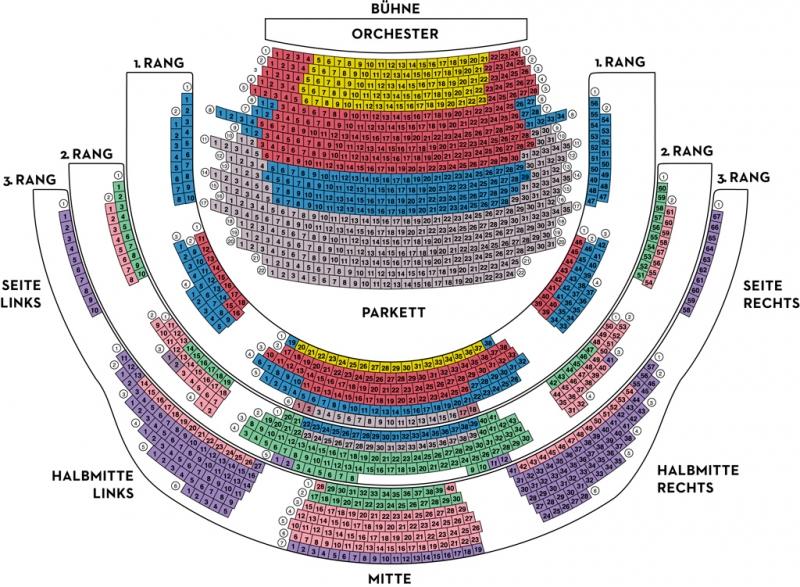 Saalplan Alte Oper